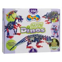 Zoob Glow Dinos 250 pc Dino Building Set