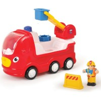 Ernie Fire Engine Toddler Vehicle Play Set