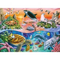 Beautiful Ocean 100 pc Kids Puzzle