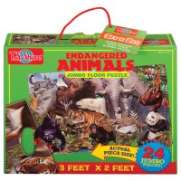 Endangered Animals Floor Puzzle