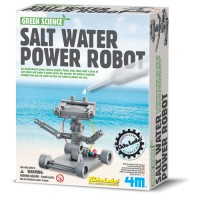 Salt Water Power Robot Science Kit