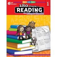 180 Days of Reading: Grade 1 - Daily Reading Workbook for Classroom and Home