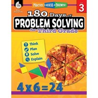 180 Days of Problem Solving for Third Grade  Build Math Fluency with this