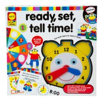 Ready, Set, Tell Time! Learning Time Toy