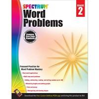 Spectrum | Word Problems Workbook | 2nd Grade 128pgs
