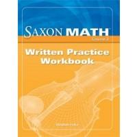 Saxon Math Course 3: Written Practice Workbook