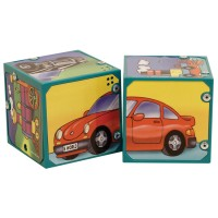 Vehicles Magic Sound Blocks Matching Set