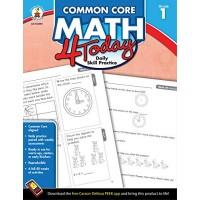 Carson Dellosa | Common Core Math 4 Today Workbook | 1st Grade 96pgs (Common