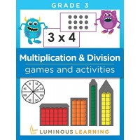Multiplication and Division Games and Activities - Grade 3: Math Activity Book