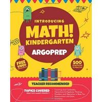 Introducing MATH! Kindergarten by ArgoPrep: 500+ Practice Questions + Comprehensive Overview of Each Topic