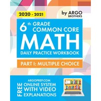 6th Grade Common Core Math: Daily Practice Workbook - Part I: Multiple Choice |