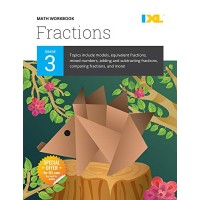 IXL | Grade 3 Fractions Math Workbook | Fun Math Practice for Ages 8-9