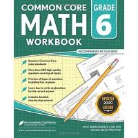 6th Grade Math Workbook: Common Core Math Workbook