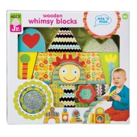 Whimsy Blocks 15 pc Baby Wooden Blocks Set