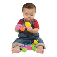 Baby Builder Linking Activity Toy