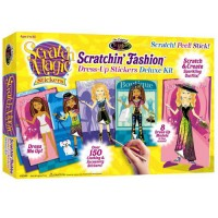 Scratch Magic Stickers Dress-Up Fashion Deluxe Kit