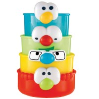 Stacking Faces Bath Toy