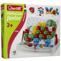 Quercetti Fantacolor Junior Toddler Peg Set