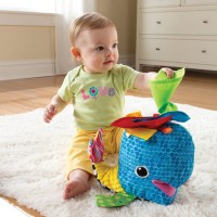 Lamaze Franky the Hanky Whale Soft Baby Toy