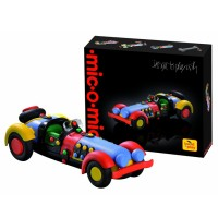 Mic-O-Mic Medium Sports Car Model Building Toy