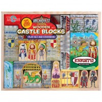 Castle Wooden Blocks Play Set & Storybook