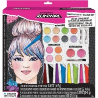 Project Runway Make-Up Artist Sketch Set