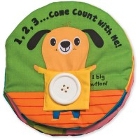 Baby Activity Soft Book - 1, 2, 3 Count with Me