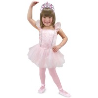 Ballerina Girls Costume Role Play Set