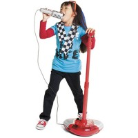Sing Along Toy Microphone - Red