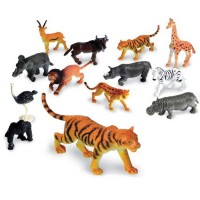 Jungle Animals Counters 60 pc Counting Set