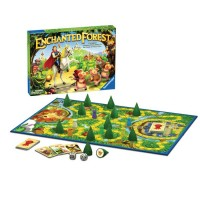 Enchanted Forest Memory Board Game