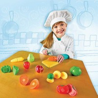 Sliceable Fruits & Veggies Toy Food Playset