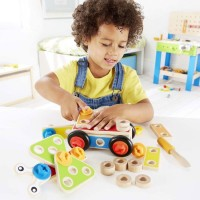 Basic Builder 42 pc Wooden Construction Set