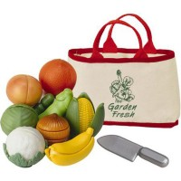 Garden Fresh Fruits & Veggies Playset