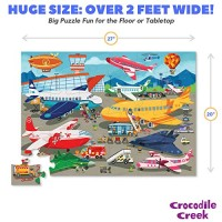 Airplane Jigsaw Floor Puzzle