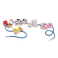 Lace-a-Long Farm Puzzle Lacing Activity Toy