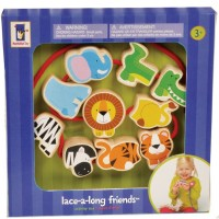 Lace-a-Long Safari Puzzle Lacing Activity Toy