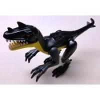 Lego Dino Jurassic Dinosaur Raptor Black And