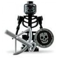 Lego Skeleton Loose Castle Mini Figure With Crossbow And