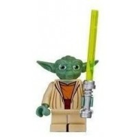 Yoda Clone Wars Lego Star Wars Figure With