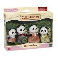 Calico Critters Wilder Panda Bear Family