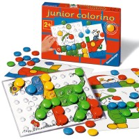 Junior Colorino Toddler Color Peg Mosaic Set