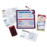 Pretend & Play Checkbook with Calculator