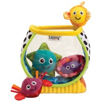 Lamaze my first fishbowl baby play set for Fish bowl toy