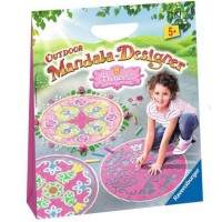 Outdoor Mandala Designer Chalk Art Kit - Princess