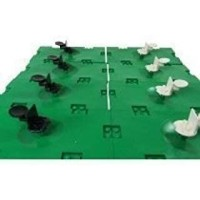 Lego Soccer Lot 8 Pieces W Baseplates Minifigure