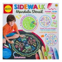 Sidewalk Mandala Stencil Set - Garden