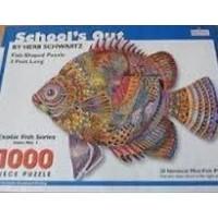 Schools Out Spilsbury Fishshaped Jigsaw