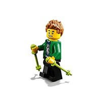 Lego City Outdoor Minifigure Hiker With Walking Sticks