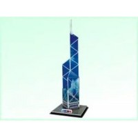 Calebou 3D Puzzles Bank Of China Tower 3 D Construction Puzzle